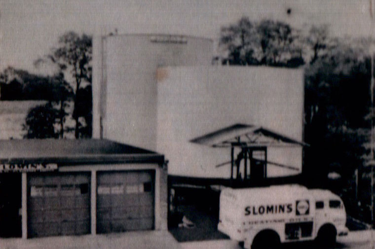 slomins original oil tank from 1923