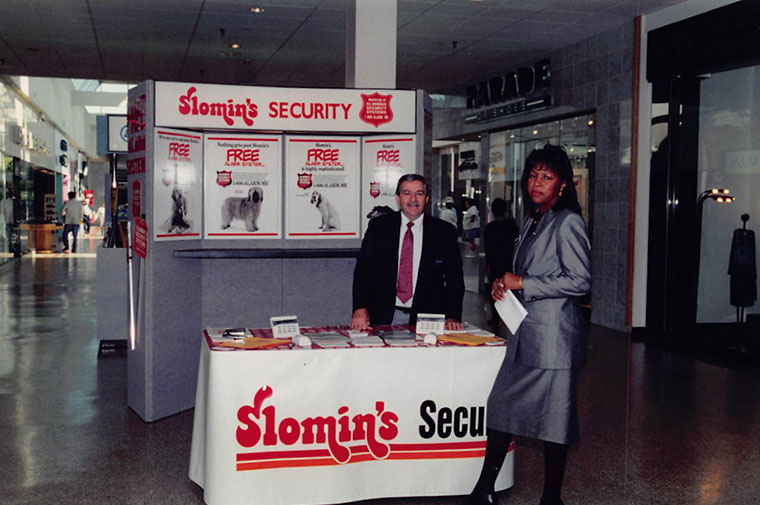 slomins security mall kiosk from 1981