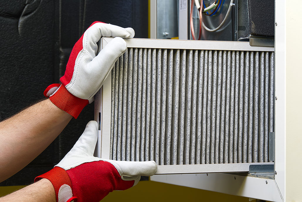 HVAC filter replacement