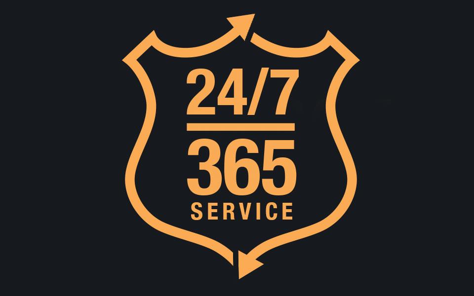 Slomins 24/7 365 Service